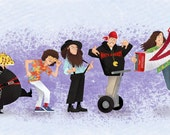 "Evolution: Weird Al Yankovic 11x14"" art print"