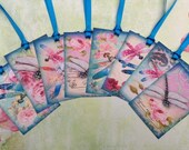 Dragonflies  Gift Tags set of 8 No.462