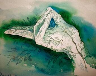 Pran mudra - Art Print - MUDRA - BUY 1 GET 2