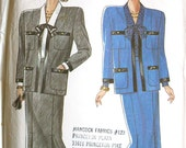 Jacket and Skirt Sewing Pattern New Look 6767 Six Sizes in One Bust 34 thru 44 UNCUT