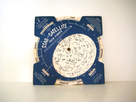 Vintage Star Satellite Path Finder 1960s By Saltandginger