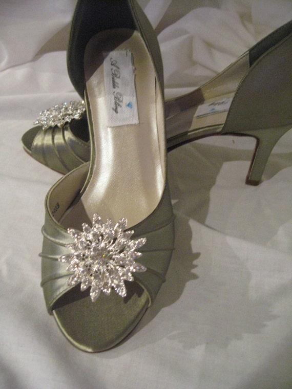 Wedding Shoes Sage Green Wedding Shoes Bridal Shoes With
