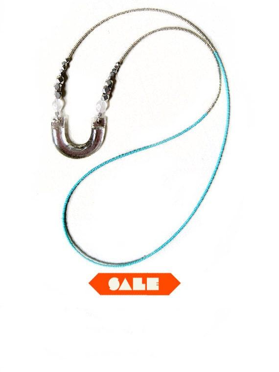 SALE Horseshoe necklace