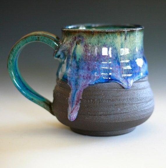 Large Coffee Mug holds 20 oz handmade ceramic cup coffee