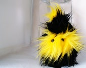Bumble Bee Monstah Frazzle - Plush Stuffed Animal Monster
