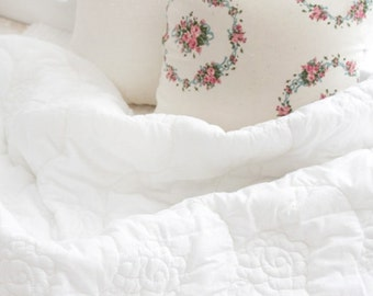 wide duplex rose quilted cotton (width 78 inches) 1yard 39638