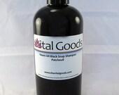 Dreadlock Shampoo Patchouli Neem oil black soap shampoo 12oz