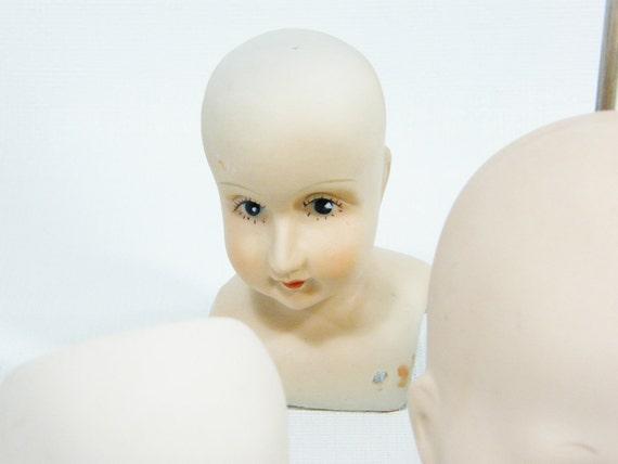 Vintage Doll Heads