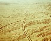 Road in the desert 8x10 Fine Art Photography Print - debstgo
