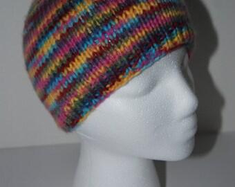 Child's multi-colored beanie hat