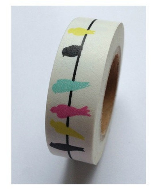 1 rolls japanese washi tape masking tape decoration tape from jolintsai on etsy studio. Black Bedroom Furniture Sets. Home Design Ideas