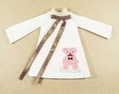 Vintage dress Boo Bear Design C