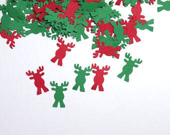 Christmas Confetti Reindeer Winter 350 Pieces