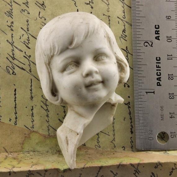 Antique  Porcelain Doll Head