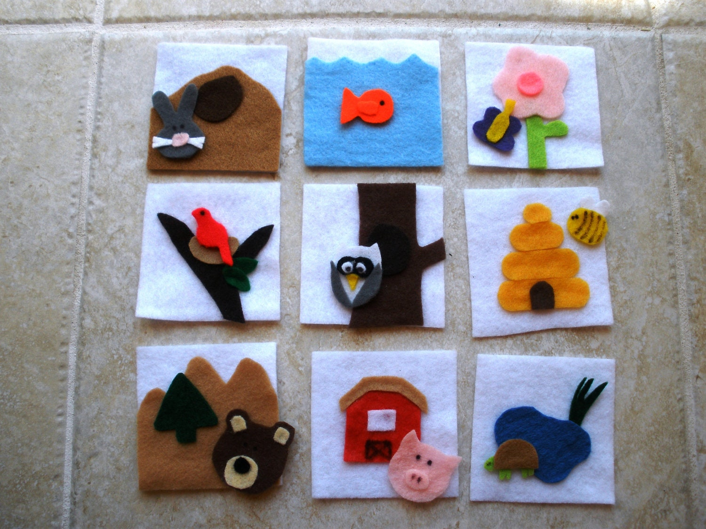 animal habitats crafts for kids