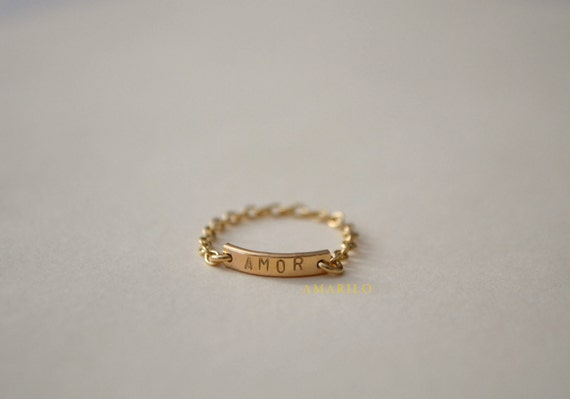 Custom Bar Chain Ring