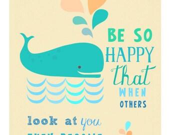 be so happy - artprint