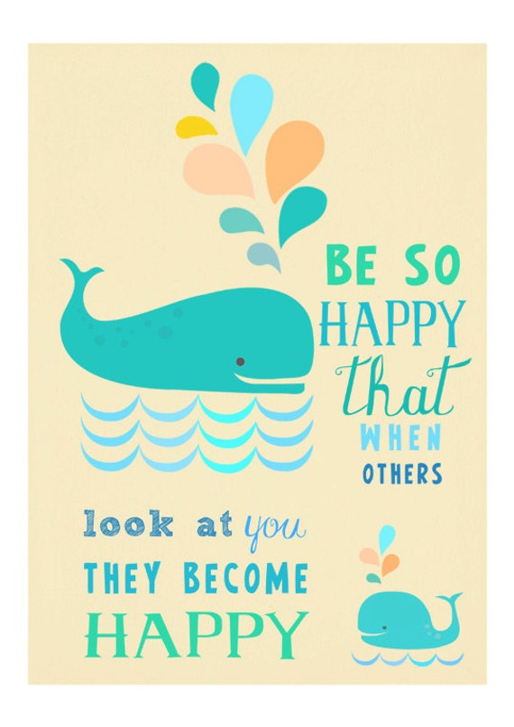 be so happy - artprint
