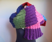 Super Thick and Wide Made to Order 1 to 6 Colors Striped Scarf