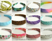 Any 2 Ribbon Headbands for Women and GIrls