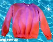 Sunset Strip dipdye Ombre Sweatshirt