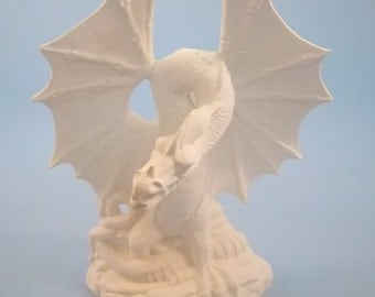 Fire Dragon Bisque -You paint it your self