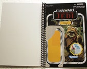 Wicket Recycled Vintage Style Star Wars ROTJ Notebook/Journal