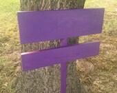 Wedding Signs Chalkboard Directional Signs - DIY Wedding Sign - Event Wedding Planner-Bridal Shower Baby Shower-purple black pink brown navy