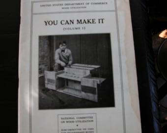 Antique Vintage 1929 United States Commerce Report