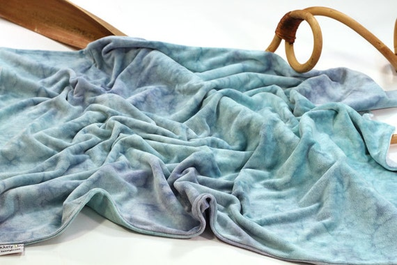 Baby Blanket in OBV, the Cuddle Blanket, in Caribbean by Tickety Bu