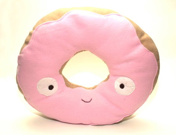 Items similar to Large Donut Decorative Pillow or Plushie on Etsy