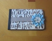 Vintage Love, Live, Laugh 4x6 Photo Album, Family Memories Photo Album