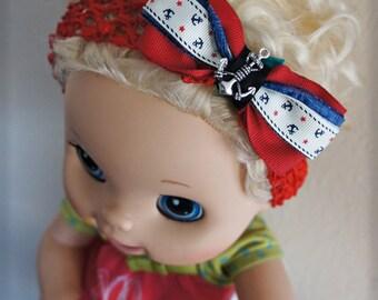 Olivia Paige - Little Sailor infant/HEADBAND