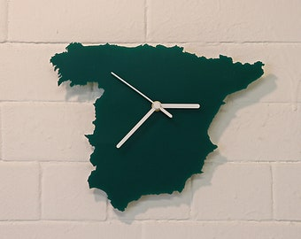 Spain clock (Green)