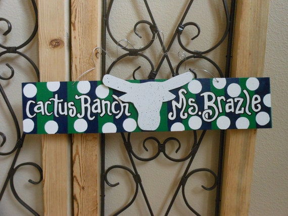 Jez4U Custom Wood Sign Special Order for School Teacher's Classroom What are your colors