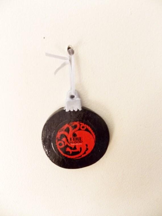 Targaryen Crest - Game of Thrones - Christmas Ornament