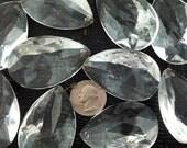 vintage glass chandelier prisms crystals 2 inch prisms