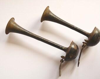 Vintage Car Horns Automobile