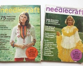 Vintage Good Housekeeping Needlecraft Magazines Spring Summer 1972 & 1973