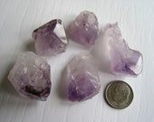 Amethyst Crystal Point - Excellent Terrarium Accent, Rocks and Minerals add interest to any Terrarium or Fairy Garden.
