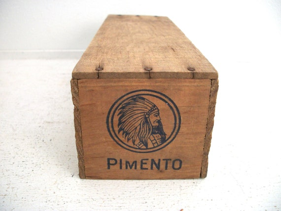 Vintage Cheese Box- Chief Pimento Cheese