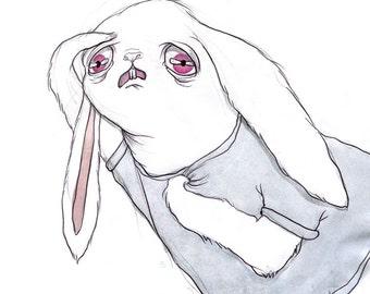 Anxious Bunny