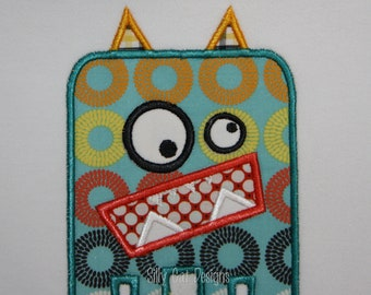Little Monster Applique Design