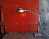 Articulating Industrial Lamp, Clamp light, Table Light Drafting Lamp
