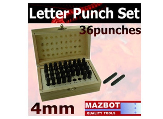 letter and number punch set mazbot 4mm letter number punch set lp2345w4 21017 | il 570xN.382848001 ln9a