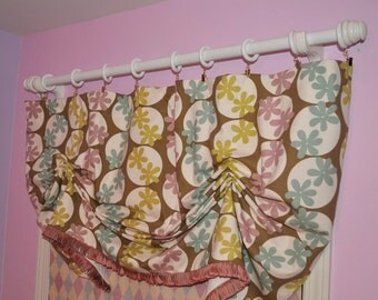 Custom Order Valance for girls room READY to ship-valance on SALE