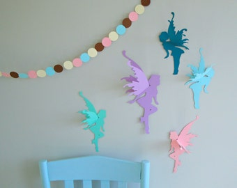 3D Fairy Wall Art-Wall Decals-Wall Decor