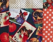 Halloween Quilted Throw - A Vintage Halloween