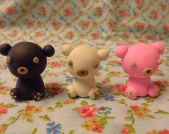 Adorable Handmade Bear Figurine