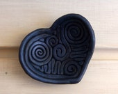 Blue Handmade Ring Holder Ring Dish Handmade for Weddings or Special Gift One of a Kind RING HOLDER DISH Candle Holder